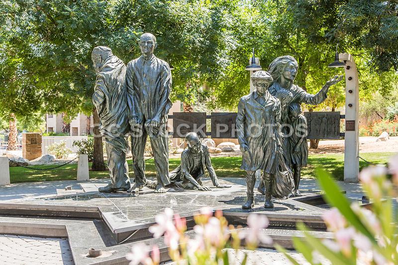 Desert Holocaust Memorial at Palm Desert Civic Center Park