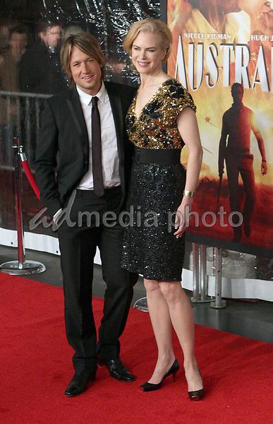 24 November 2008- New York, NY- Keith Urban and Nicole Kidman arriving to the New York Premiere of Australia.<br /> Photo Credit: Paul Zimmerman/AdMedia