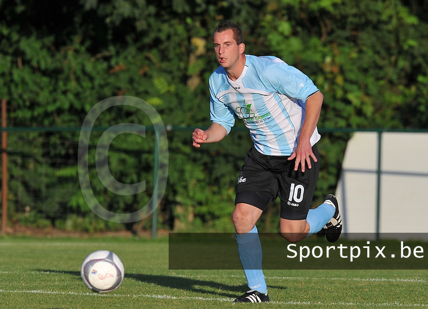 SK Westrozebeke : Maarten Bulckaen.foto  VDB / Bart Vandenbroucke