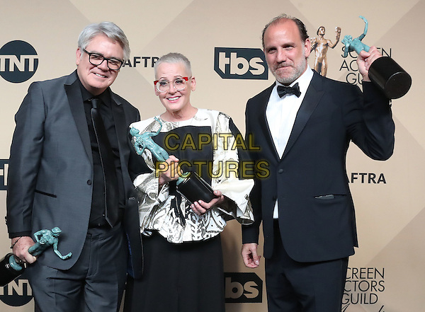 29 January 2017 - Los Angeles, California - Michael Harney, Lori Petty, Nick Jackie Cruz. 23rd Annual Screen Actors Guild Awards held at The Shrine Expo Hall. <br /> CAP/ADM/FS<br /> &copy;FS/ADM/Capital Pictures