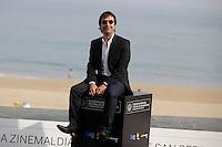 "Director Atom Egoyan posses in the photocall of the ""Devil´s knot"" film presentation during the 61 San Sebastian Film Festival, in San Sebastian, Spain. September 26, 2013. (ALTERPHOTOS/Victor Blanco) <br /> San Sebastian Film Festival <br /> Foto Insidefoto"