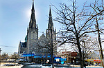 WATERBURY CT. 22 January 2018-012219SV05-St. Anne&rsquo;s Church in Waterbury Tuesday.<br /> Steven Valenti Republican-American