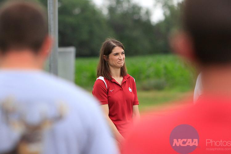 31 MAY 2014:  The 2014 NCAA Youth Softball Clinic takes place at the Putnam City Optimist Complex in Oklahoma City, OK.  Alonzo J. Adams/NCAA Photos