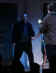 """Michael Mayer during the Broadway Opening Night Curtain Call for Landford Wilson's """"Burn This""""  at Hudson Theatre on April 15, 2019 in New York City."""