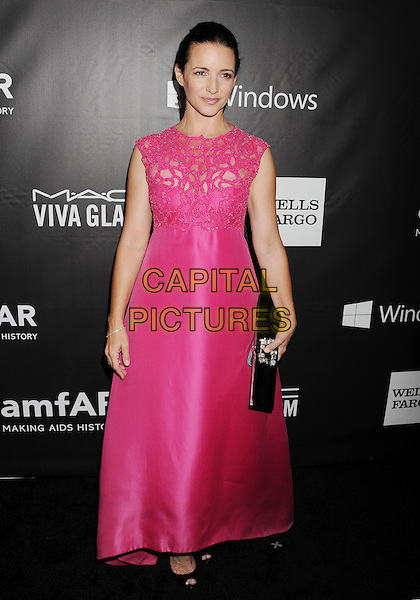 HOLLYWOOD, CA- OCTOBER 29: Actress Kristin Davis attends amfAR LA Inspiration Gala honoring Tom Ford at Milk Studios on October 29, 2014 in Hollywood, California.<br /> CAP/ROT/TM<br /> &copy;TM/ROT/Capital Pictures
