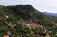Avapessa in der Balagne, Korsika, Frankreich