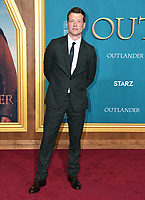 "13 February 2020 - Los Angeles, California - Ed Speleers. ""Outlander"" Season 5 Los Angeles Premiere held at the Hollywood Palladium. Photo Credit: Birdie Thompson/AdMedia"