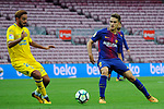 League Santander 2017/2018 - Game: 7.<br /> FC Barcelona vs UD Las Palmas: 3-0.<br /> Alberto Aquilani vs Denis Suarez.
