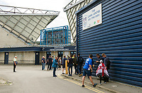 Bolton Wanderers fans enjoying the pre-match atmosphere at The Den<br /> <br /> Photographer Ashley Western/CameraSport<br /> <br /> The EFL Sky Bet Championship - Millwall v Bolton Wanderers - Saturday August 12th 2017 - The Den - London<br /> <br /> World Copyright &not;&copy; 2017 CameraSport. All rights reserved. 43 Linden Ave. Countesthorpe. Leicester. England. LE8 5PG - Tel: +44 (0) 116 277 4147 - admin@camerasport.com - www.camerasport.com
