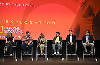 "NORTH HOLLYWOOD - MAY 20: (L-R) Executive Producers Kelly Souders, Brian Peterson, and Lynda Obst, Michael Uppendahl (Director), Sean Callery (Composer), and Mark Hutman (Production Designer) attends an FYC event for National Geographic's ""The Hot Zone"" at the Television Academy on May 20, 2019 in North Hollywood, California. (Photo by Frank Micelotta/National Geographic/PictureGroup)"