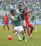 Deportivo Cali venció como local 2-1 a América. Fecha 10 Liga Águila I-2017.