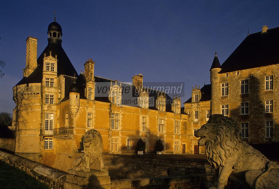 Europe/France/Poitou-Charentes/86/Vienne/Bonnes: Château de Touffou