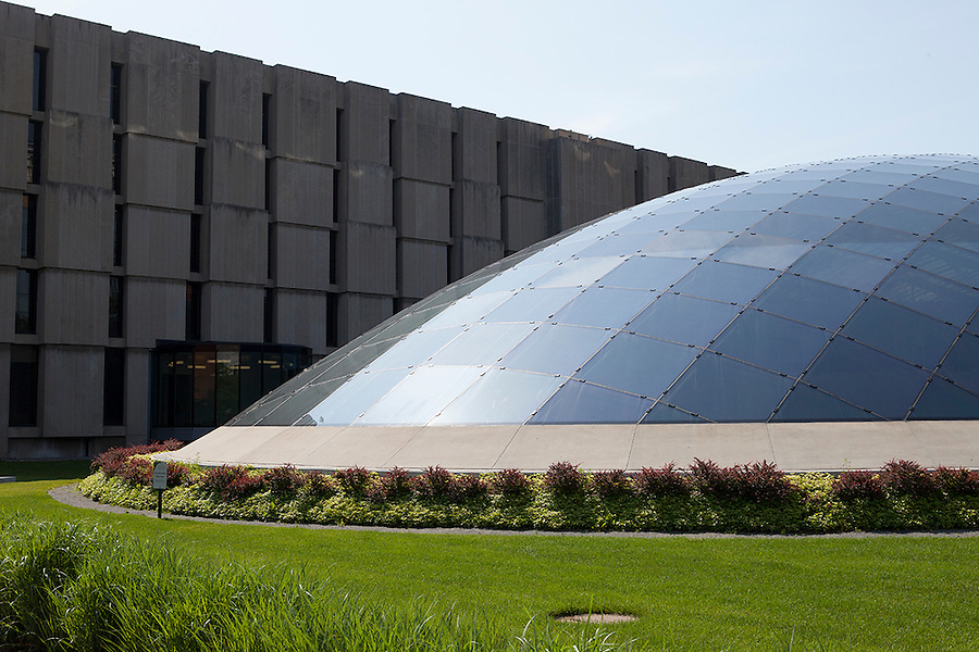 Joe and Rika Mansueto Library, designed by Helmut Jahn, University of Chicago campus, Chicago, Illinois, IL, USA