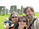 Bradley Quentin and family explore Stonehenge.