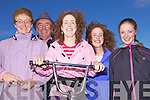 The Dineen family from Asdee at the races on Littor Strand last Sunday afternoon, l-r Marian, Mike, Catriona, Nuala and Avril Dineen