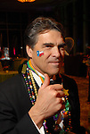 Texas Governor Rick Perry at the San Luis Mardi Gras Ball in Galveston Friday Feb. 01,2008.(Dave Rossman/For the Chronicle)