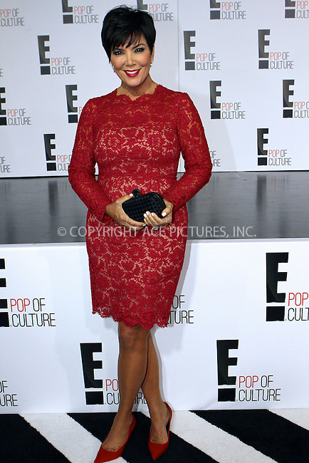 WWW.ACEPIXS.COM....April 22, 2013, New York City....Kris Jenner at the E! 2013 Upfront at The Grand Ballroom at Manhattan Center on April 22, 2013in New York City....By Line: Nancy Rivera/ACE Pictures......ACE Pictures, Inc...tel: 646 769 0430..Email: info@acepixs.com..www.acepixs.com