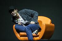 SÃO PAULO,SP, 02.12.2016 - COMIC-CON - Bruno Mazzeo durante a Comic Con 2016 no São Paulo Expo na região sul da cidade nesta sexta-feira, 02. (Foto: Vanessa Carvalho/Brazil Photo Press)