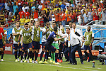 Netherlands team group, JUN 13, 2014 - Football / Soccer : Netherlands team group celebrate after van Persie goal on FIFA World Cup Brasil<br /> match between Spain and Netherlands at the Arena Fonte Nova in Salvador de Bahia, Brasil. (Photo by AFLO) [3604]