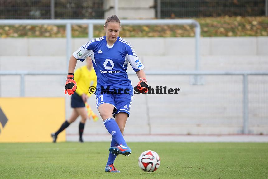 Anke Preuß (FFC) - 1. FFC Frankfurt vs. ASD Torres Femminile, UEFA Champions League Achtelfinal Hinspiel, Stadion am Brentanobad