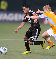 DC United midfielder Andy Najar (14)   The Houston Dynamo defeated DC United 3-1, at RFK Stadium, Saturday September 25, 2010.