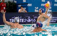 4 Pietro FIGLIOLI ITA<br /> FINA Men's Water Polo Olympic Games Qualifications Tournament 2016<br /> quarter final<br /> Romania ROU (White) Vs Italy ITA (Blue)<br /> Trieste, Italy - Swimming Pool Bruno Bianchi<br /> Day 06  08-04-2016<br /> Photo G.Scala/Insidefoto/Deepbluemedia