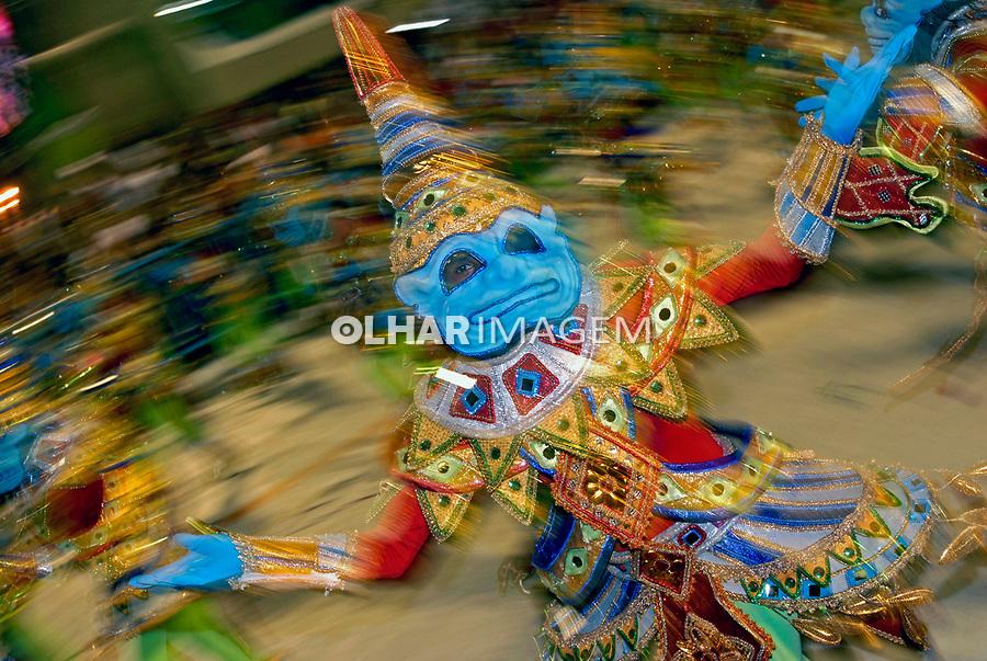 Desfile de carnaval. Rio de Janeiro. 2007. Foto de Renata Mello.