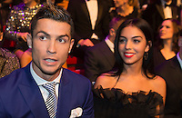Zurigo 09-01-2017 FIFA Football Awards - Cristiano Ronaldo (POR) and Georgina Rodriguez  during the Best FIFA Football Awards 2016 in Zurich<br /> Foto Steffen Schmidt/freshfocus/Insidefoto