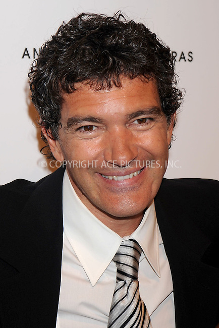 WWW.ACEPIXS.COM . . . . .....July 10, 2008. New York City.....Actor Antonio Banderas attends the launch of his new fragrance and announcement of his partnership with Broadway Cares / Equity Fights Aids at Cedar Lake on July 10, 2008 in New York City. ..  ....Please byline: Kristin Callahan - ACEPIXS.COM..... *** ***..Ace Pictures, Inc:  ..Philip Vaughan (646) 769 0430..e-mail: info@acepixs.com..web: http://www.acepixs.com