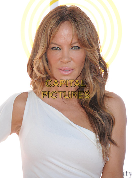 Robin Antin .attends the Dizzy Feet Foundation's Celebration of Dance Gala held at The Dorothy Chandler Pavilion at The Music Center in Los Angeles, California, USA,  July 28th 2012..portrait headshot white one shoulder                                                                  .CAP/RKE/DVS.©DVS/RockinExposures/Capital Pictures.