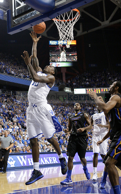UK guard Archie Goodwin jumps to shoot the ball at the UK men's baksetball game vs. Morehead State at Rupp Arena in Lexington, Ky., on Wednesday, November 21, 2012. Photo by Tessa Lighty | Staff