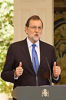 President of Spain Mariano Rajoy