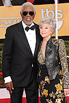 Morgan Freeman, Rita Moreno attends The 20th SAG Awards held at The Shrine Auditorium in Los Angeles, California on January 18,2014                                                                               © 2014 Hollywood Press Agency