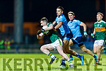 Tom O'Sullivan Kerry in action against Niall Scully Dublin during the Allianz Football League Division 1 Round 3 match between Kerry and Dublin at Austin Stack Park in Tralee, Kerry on Saturday night.