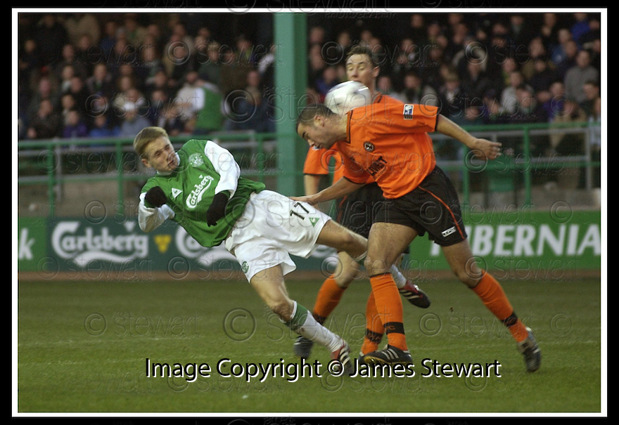 02/01/2002                 Copyright Pic : James Stewart .Ref :     .File Name : DSC_0420.HIBS TOM MCMANUS HEADS TOWRDS GOAL AS HASNEY ALJOFREE MAKES THE CHALLENGE....James Stewart Photo Agency, Stewart House, Stewart Road, Falkirk. FK2 7AS      Vat Reg No. 607 6932 25.Office     : +44 (0)1324 630007     .Mobile  : + 44 (0)7721 416997.Fax         :  +44 (0)1324 630007.E-mail  :  jim@jspa.co.uk.If you require further information then contact Jim Stewart on any of the numbers above.........