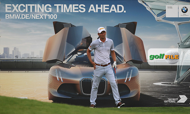 Marcel Siem (GER) on the 18th tee during the Round 2 of the 2016 BMW International Open at the Golf Club Gut Laerchenhof in Pulheim, Germany on Friday 24/06/16.<br /> Picture: Golffile   Thos Caffrey