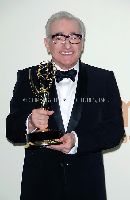 WWW.ACEPIXS.COM . . . . .  ....September 18 2011, LA....Director Martin Scorsese in the press room of the 63rd Annual Primetime Emmy Awards held at Nokia Theatre L.A. on September 18, 2011 in Los Angeles, California....Please byline: PETER WEST - ACE PICTURES.... *** ***..Ace Pictures, Inc:  ..Philip Vaughan (212) 243-8787 or (646) 679 0430..e-mail: info@acepixs.com..web: http://www.acepixs.com
