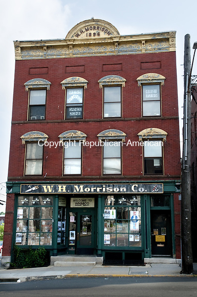 TORRINGTON, CT - 25 JUNE 2014 -- The Morrison Building at 63 Water Street was bought in 2005 by the company that purchased 104 Main St. in Torrington June 13.  Alec Johnson/ Republican-American