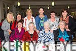 Geraldine Mahony, Brid Culloty, Ann Walsh, Kay O'Heffernan, Bernie Walsh, Eileen Stack, Marion Robbins, Bernie Kinch, Geraldine Reidy, Anne Connolly enjoying the Irish Wheelchair Association Christmas Party at the Earl of Desmond Hotel on Sunday