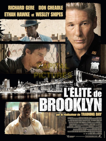 Brooklyn's Finest (2009)<br /> POSTER ART<br /> *Filmstill - Editorial Use Only*<br /> CAP/KFS<br /> Image supplied by Capital Pictures