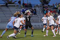 Boyds, MD - Saturday May 14, 2016: Washington Spirit goalkeeper Stephanie Labbe (1) during a regular season National Women's Soccer League (NWSL) match at Maureen Hendricks Field, Maryland SoccerPlex. The Washington Spirit defeated the Houston Dash 1-0.