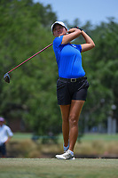 Gina Kim (a)(USA) watches her tee shot on 2 during round 4 of the 2019 US Women's Open, Charleston Country Club, Charleston, South Carolina,  USA. 6/2/2019.<br /> Picture: Golffile | Ken Murray<br /> <br /> All photo usage must carry mandatory copyright credit (© Golffile | Ken Murray)