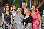 Marie Buiche, Nora Brosnan, Hannah Fitzgerald, Urusla Brosnan, Mairead Kelly and Christina Ahern at the Fashion Show at Kerry Fashion Weekend in the The Ross Hotel, Killarney, on Saturday.