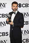 Michael Aronov poses at the 71st Annual Tony Awards, in the press room at Radio City Music Hall on June 11, 2017 in New York City.
