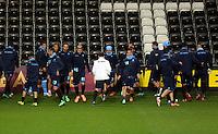 Swansea during training
