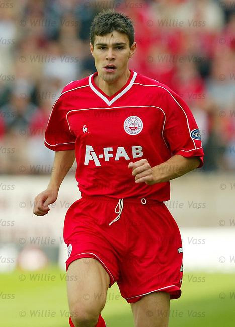 Michael Hart, Aberdeen.stock season 2003-04..pic willie vass