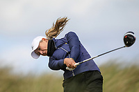 Georgia Carr (Miltown) during the 1st round of the Irish Women's Open Stroke Play Championship, Enniscrone Golf Club, Enniscrone, Co. Sligo. Ireland. 16/06/2018.<br /> Picture: Golffile | Fran Caffrey<br /> <br /> <br /> All photo usage must carry mandatory copyright credit (© Golffile | Fran Caffrey)
