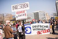 2019/04/06 Politik | Demonstration gegen Mietenpolitik