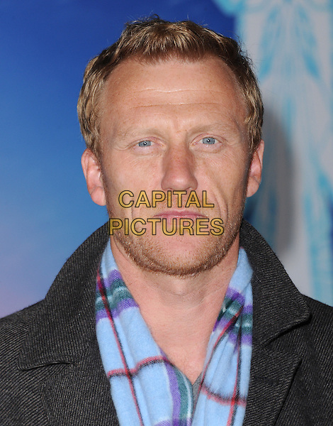 Hollywood, CA - NOVEMBER 19: Kevin McKidd arrives at The Disney FROZEN Premiere held at The El Capitan Theatre in Hollywood, California on November 19,2012                                                                               <br /> CAP/DVS<br /> &copy;DVS/Capital Pictures