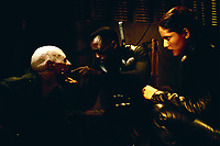 Blade II (2002) <br /> (Blade 2)<br /> Wesley Snipes &amp; Leonor Varela<br /> *Filmstill - Editorial Use Only*<br /> CAP/KFS<br /> Image supplied by Capital Pictures